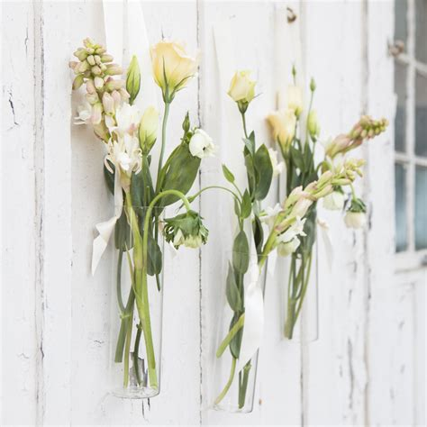 hanging flower vases wedding how to style hanging floral vases rustic wedding chic