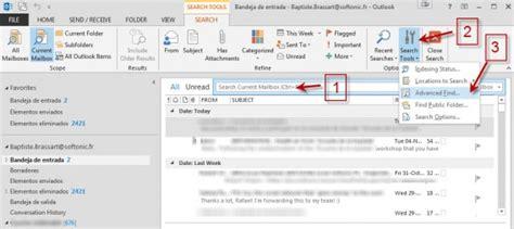 Outlook Search Not Finding Emails Outlook 8 Trucos Clave Para El Cliente De Correo De Microsoft