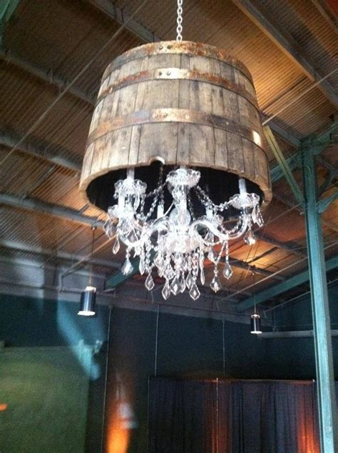 Whiskey Barrel Chandelier Whiskey Barrel Chandelier My Future