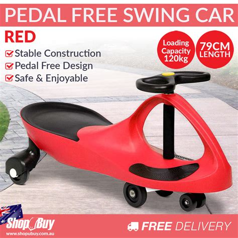 swing car ride on toy swing car kids ride on toy pedal free swivel slider safe