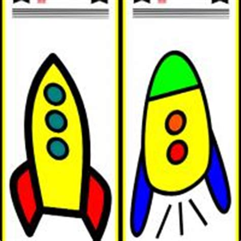 Printable Rocket Bookmarks | rocket bookmarks
