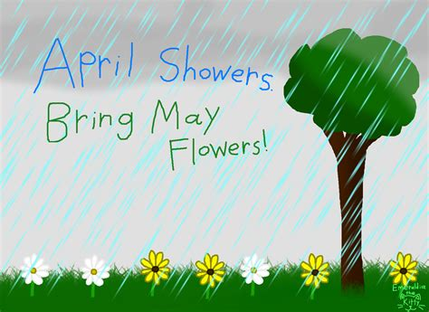 April Showers Bring by April Showers Bring May Flowers Www Imgkid The