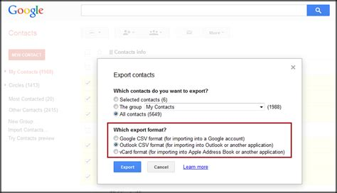 format csv google contacts how to export google contacts to csv or vcard akrutosync