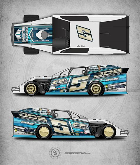race car graphic design templates gallery of race car wraps imca 4 cyl streetstock late