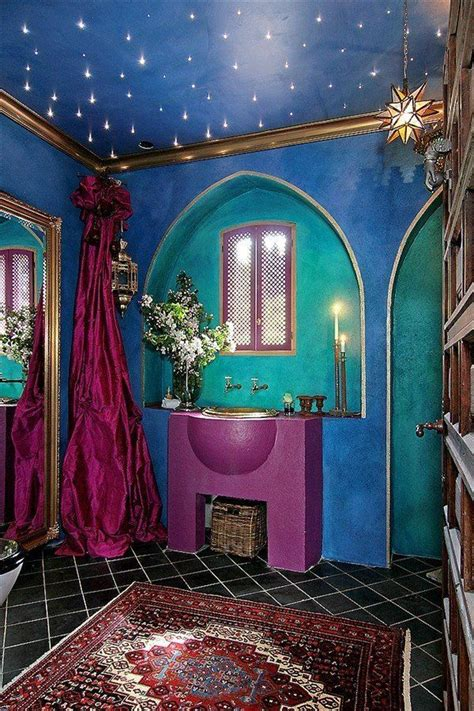1000 images about bohemian bathroom on