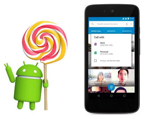 android lollipop phones starts rolling out android 5 1 lollipop with support for multi sim and more phonebunch