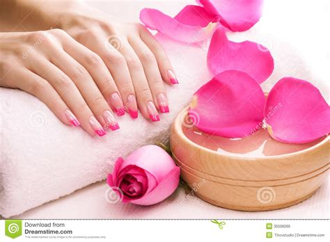 Bathroom Design Plans by Manicure With Fragrant Rose Petals And Towel Spa Royalty