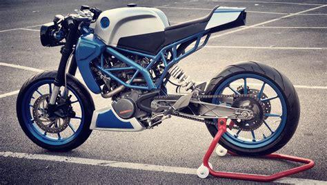 Ktm Duke200cc Sonic200 Ktm Duke200 Cafe Racer By Inline3 Custom