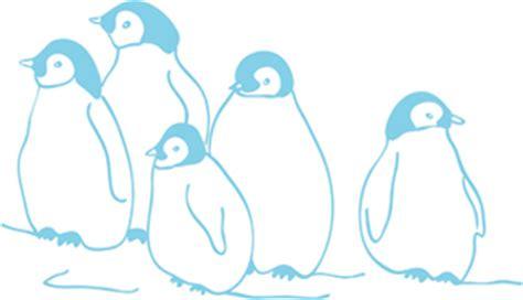 kinderzimmer bild pinguin wandtattoo pinguine wandbilder f 252 r kindgerechtes wohnen