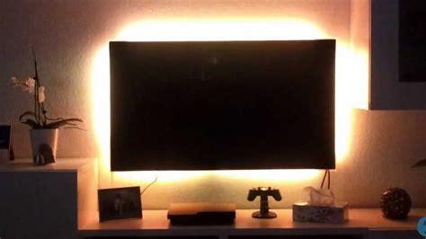 led tv beleuchtung tv led hintergrundbeleuchtung nachr 252 sten selber bauen