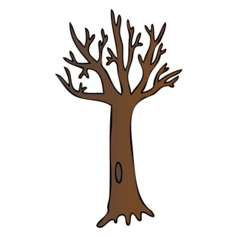 Brown Tree Clip by Brown Bare Tree Clipart Clipart Panda Free Clipart Images