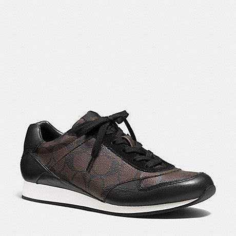 Coach Sneakers Mahogany coach q6735 sneaker brown mahogany black