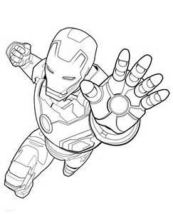 coloring page homem de ferro