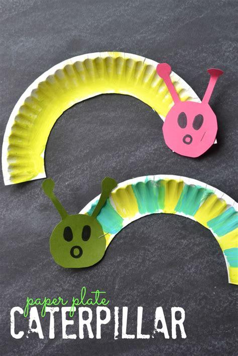 caterpillar crafts for paper plate caterpillar kid craft