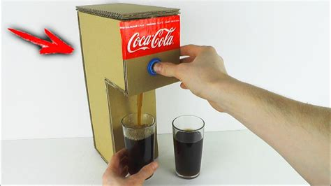how to make coca cola soda machine at home