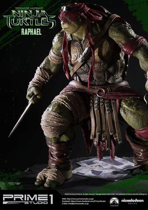 Tmnt 2014 Raphael prime 1 studio tmnt 2014 raphael statue update the toyark news