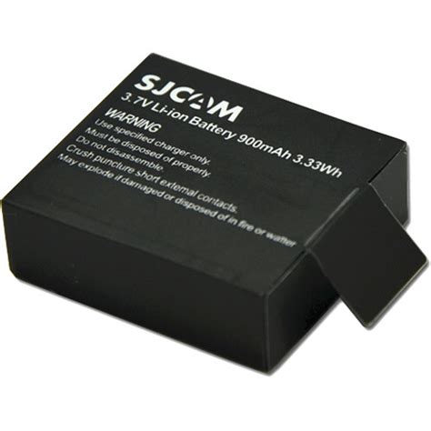 Battery Sjcam by Sjcam Battery For Sj4000 Sj5000 And Sjm10 Gp137 B H Photo