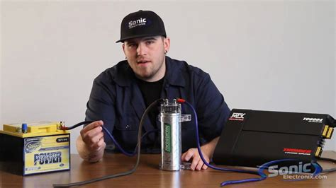 how to connect a capacitor to your car sound how to install a car audio capacitor