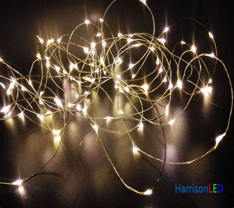 Wholesale 50xwholesale Ultra Thin Invisible Copper Wire Cheap White String Lights