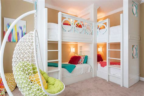 bedrooms 4 kids 22 cool designs of bunk beds for four bunk bed lovers