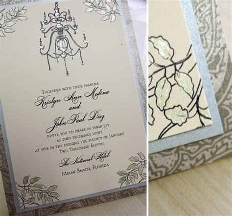 Wedding Invitations Rice Paper by Paper Quilling Inspired By Chandelier Wedding