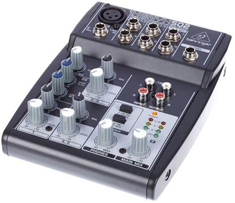 Katalog Mixer Behringer behringer xenyx 502 musikhaus thomann