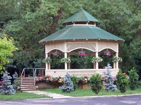 gazebo in garden best flowers for your garden gazebo