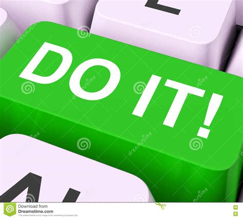 Do Your Thumbs What It Takes by Do It Now Royalty Free Stock Photography Cartoondealer