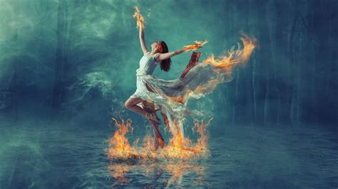tutorial photoshop dance burning dance fire effect manipulation photoshop