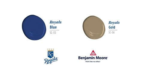 kansas city royals official paint colors more