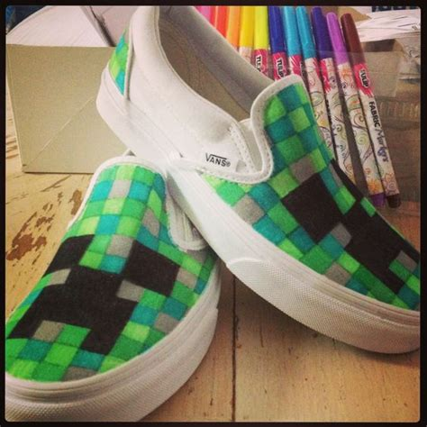 diy minecraft shoes the world s catalog of ideas