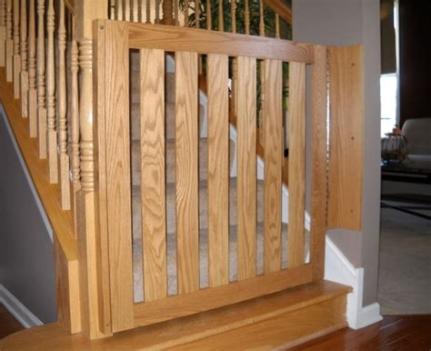 Baby Gate Banister Safety Gates For Stairs Stairs Design Ideas