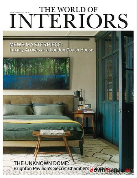 the world of interiors magazine november 2012 187