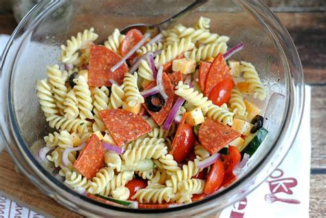 cold pasta salad with italian dressing italian pasta salad