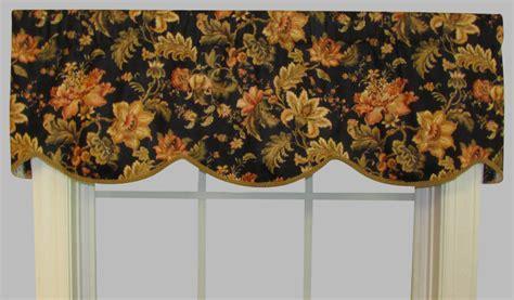 Black Cornice Valance Cornice Valance Dorthea Floral Print