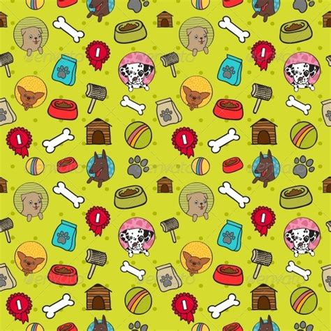 dog pattern wallpaper seamless dogs pattern by macrovector graphicriver
