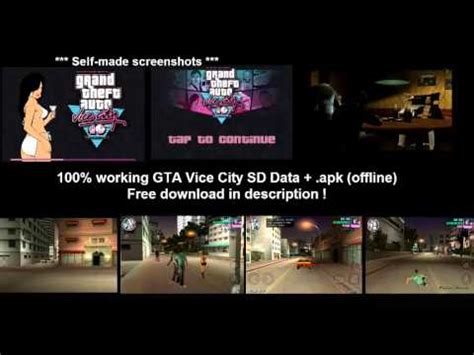 free gta vice city apk data gta vice city sd data apk tested works 100