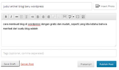 cara membuat blog wordpress yang bagus cara membuat blog di wordpress gratis dan mudah untuk