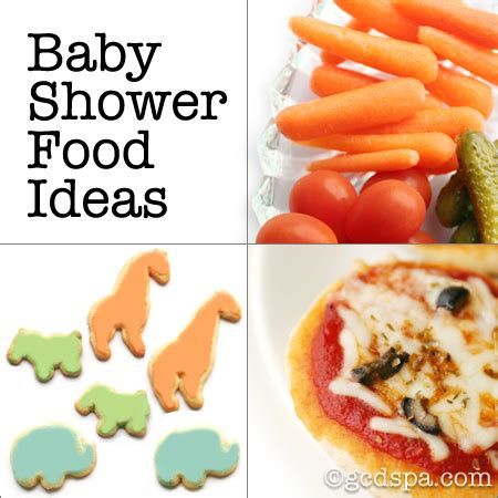 cool baby shower food ideas tea sandwiches bite sized snacks that are great at any
