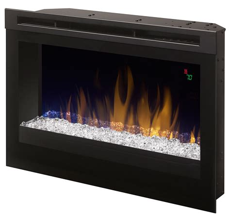 dimplex 25 in contemporary electric fireplace insert
