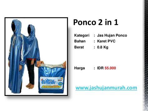 Ponco 2 In 1 Big Top Primadona Scothlght jas hujan ponco dari www jashujanmurah