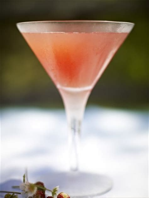 martini strawberry drinks recipes oliver