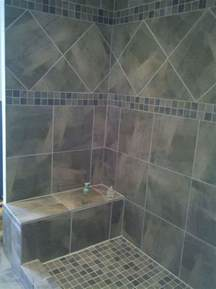 Ideas For Bathroom Tile 40 Gray Shower Tile Ideas And Pictures