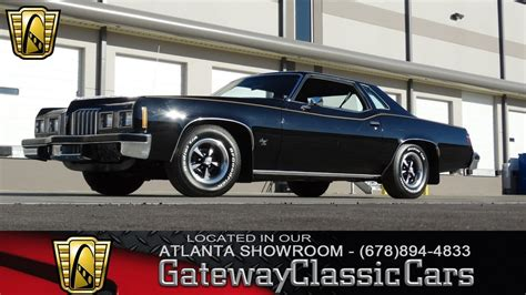 all car manuals free 1977 pontiac grand prix transmission control 1977 pontiac grand prix gateway classic cars of atlanta 109 youtube