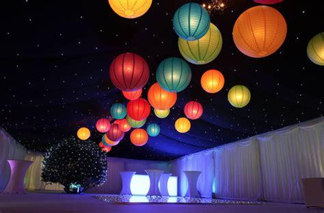 paper lantern lighting