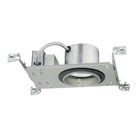 4 inch led recessed lighting new construction 5 inch dimmable led new construction recessed housing ebay