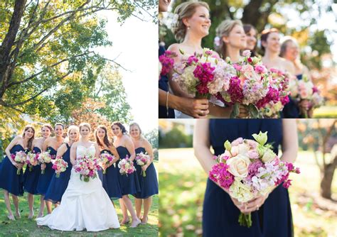 Home Decor In Memphis Tn by Navy And Pink Fall Wedding In Knoxville Tn Bride Link