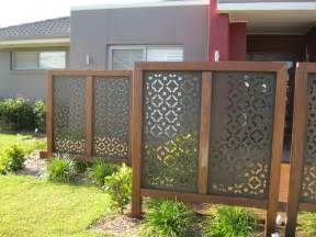 outdoor privacy screen ideas divider home decorating diy
