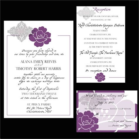 wedding reception invitation wording theruntime