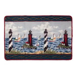 Lighthouse Bathroom Rugs Lighthouse Bath Mat Nautical Bath Rugs Walter